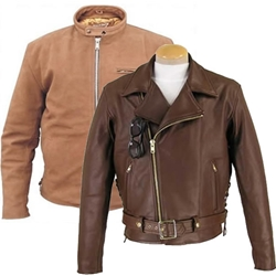 Brown Leather Jackets